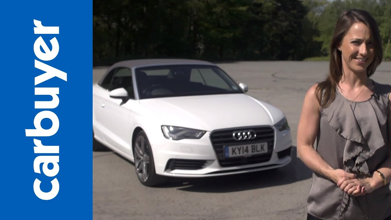 Audi A Cabriolet Convertible Review Carbuyer YouTube - Audi convertible