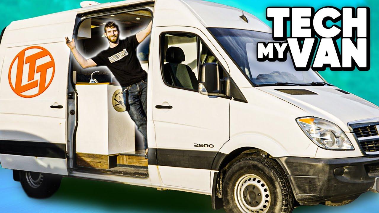 Download HUGE PC upgrade... in a Van!