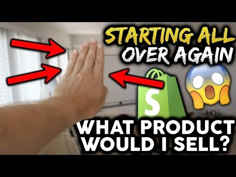 What Would I Sell If I Opened A New Shopify Store Today? (Q & A)