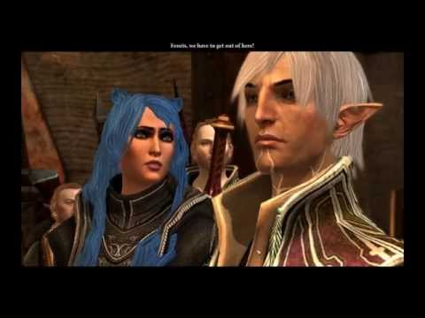 Dragon Age II - Complete romance female Hawke and Fenris (Friendly)