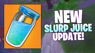 Fortnite NEW Slurp Juice UPDATE Buff Breakdown - 5.10 Patch