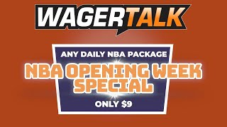 NBA Picks and Predictions for $9 - WagerTalk Promotion