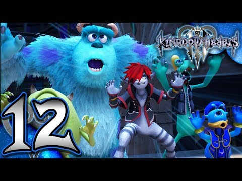 Kingdom Hearts 3 - Walkthrough Part 12 - Monstropolis