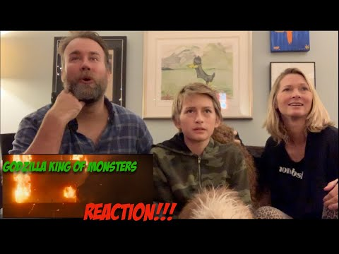 Godzilla: king of the Monsters Official Trailer 2 Reaction