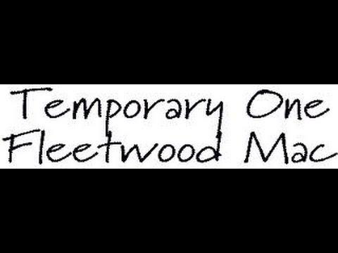 Temporary One (Fleetwood Mac) Gruftierocker Cover