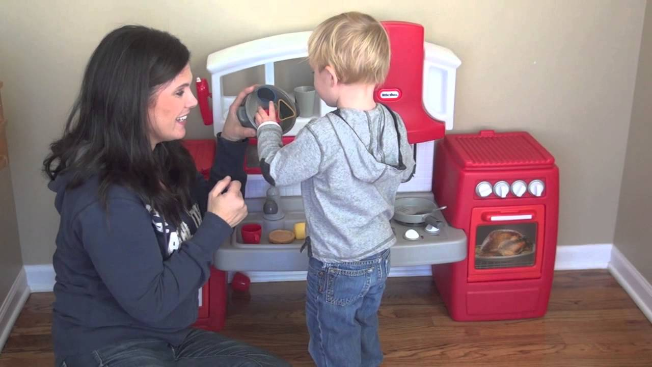 Little Tikes Cook N Grow Kitchen Review By Baby Gizmo Youtube