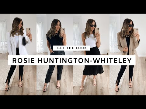 GET THE LOOK: ROSIE HUNTINGTON-WHITELEY | Paige Kennedy
