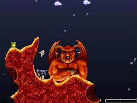 Worms World Party Deathmatch Superstar