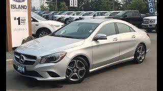 2014 Mercedes-Benz CLA250 W/ Heated Seats, Leather, Power Trunk Review| Island Ford