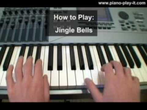 Jingle Bells Piano Tutorial - How to Play Jingle Bells on Piano