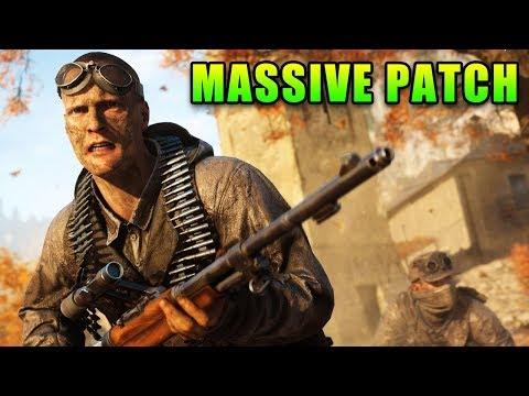 Battlefield V Massive Patch - Good & Bad - YouTube