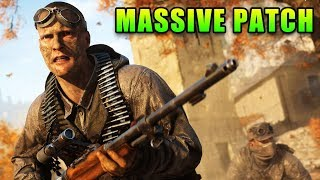 Battlefield V Massive Patch - Good & Bad