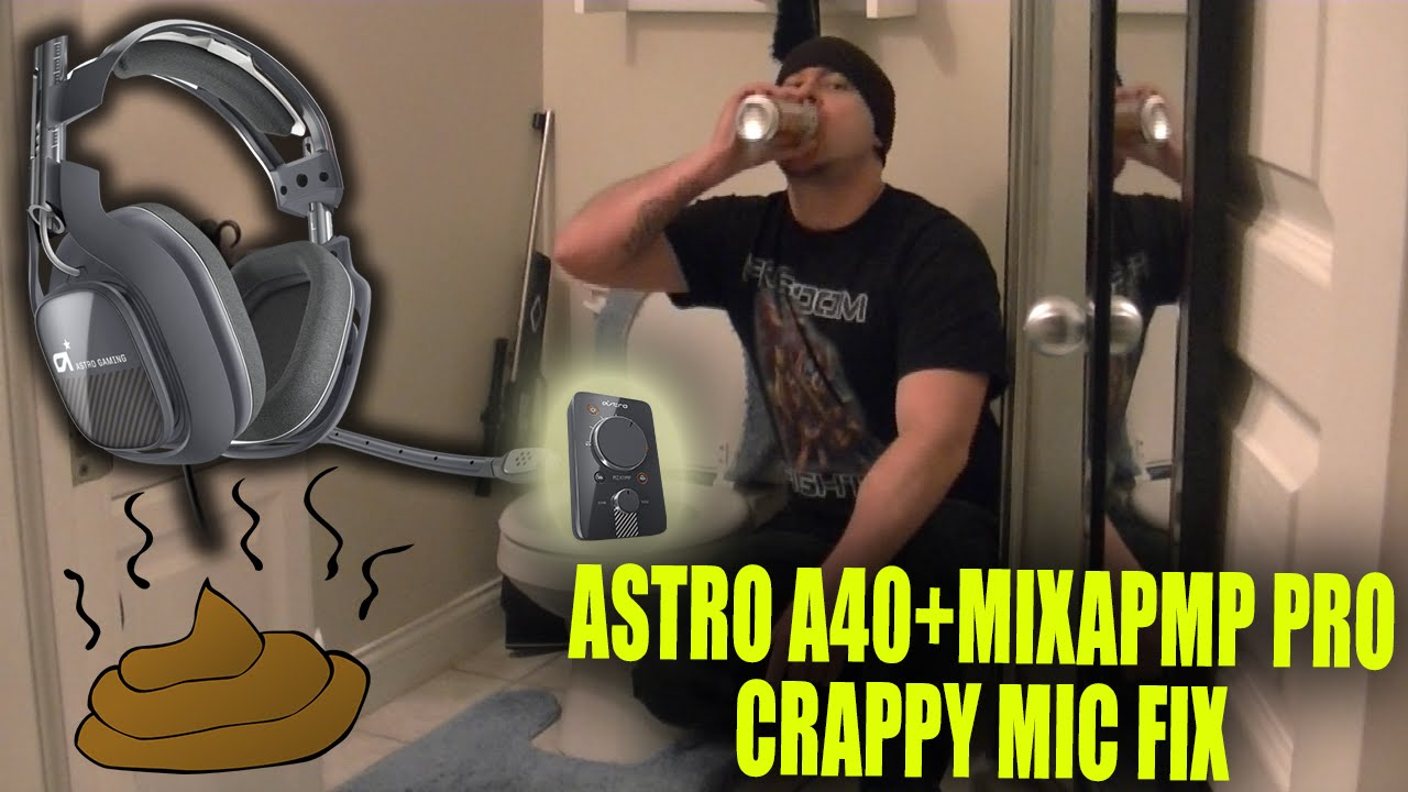 How To Fix Astro A40 Mic Problem - YouTube
