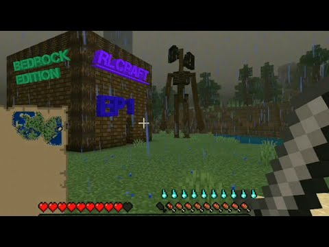 Rlcraft, the rl standing for real life or realism and is a take on another mod i made for unreal called rlcoop that generally has a similar goal, is my interpretation of what i've always wanted in minecraft when it comes to pure survival, adventuring and rpg, and immersion. Rlcraft Bedrock Edition Beta Ep1 Short Series Luciendeath Youtube
