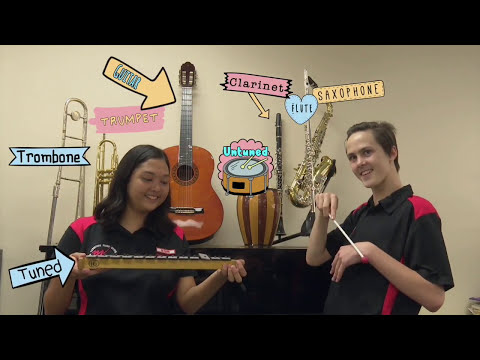 NT Music School Instrument Demonstration