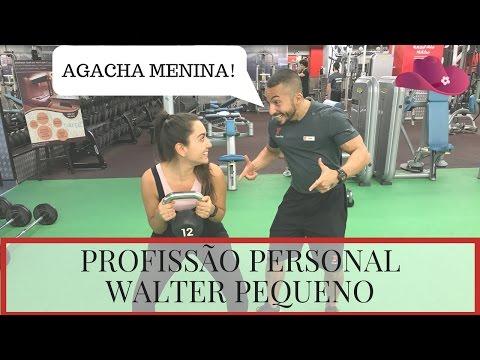 Profissões em DUBAI!  PERSONAL TRAINER com Walter Pequeno!