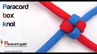 How to tie the box knot