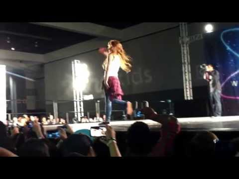 Chachi Gonzales dancing at world of dance...