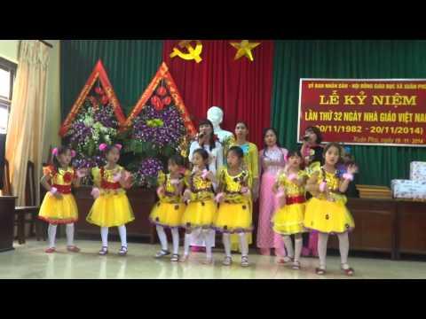 Hát múa :Bài ca cô giáo trẻ (GV &HS trường Tiểu học Xuân Phú - Phúc Thọ - HN)
