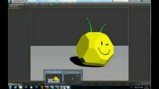 Урок для начинающих 3Ds MAX Анимация кубика (RUS) часть 1