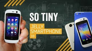 Jelly: The Smallest Smartphone I've Ever Held