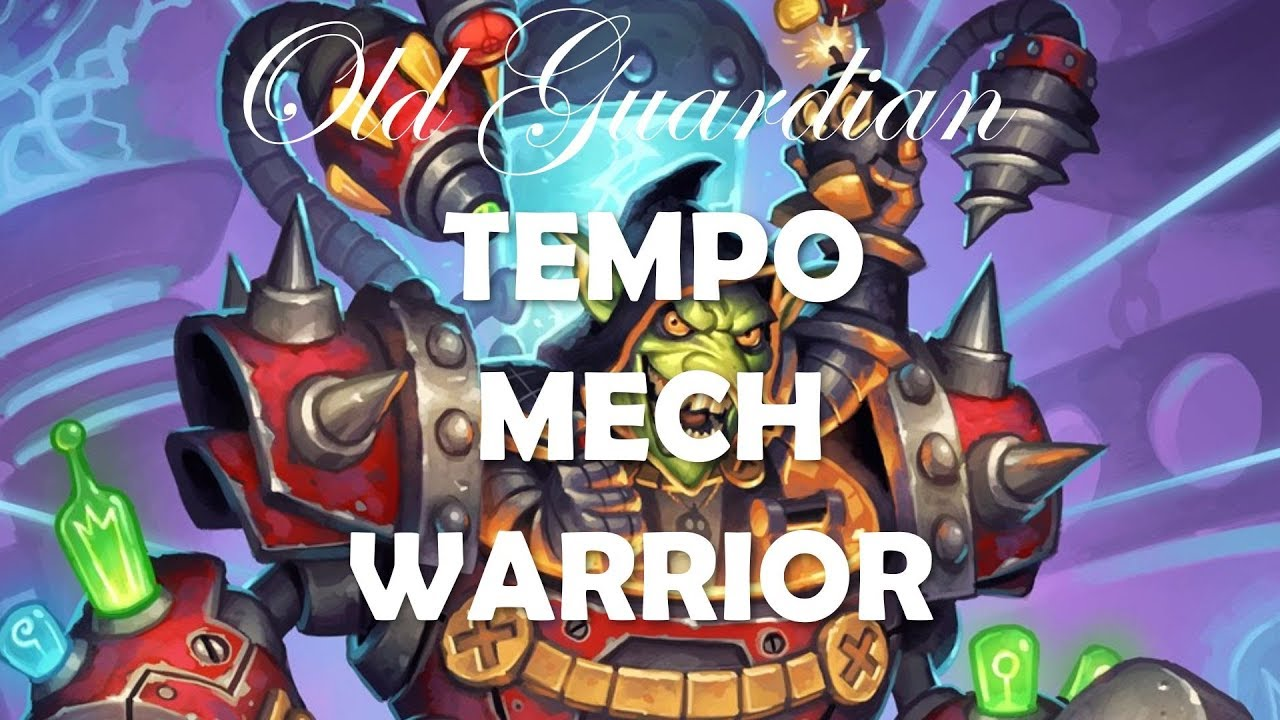 Beating up Zoolock with Tempo Mech Warrior (Hearthstone Boomsday deck guide)