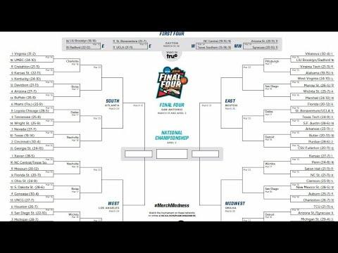 My 2018 NCAA Tournament Predictions