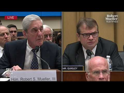 The Moment Mueller Said What He Thinks Of Trump