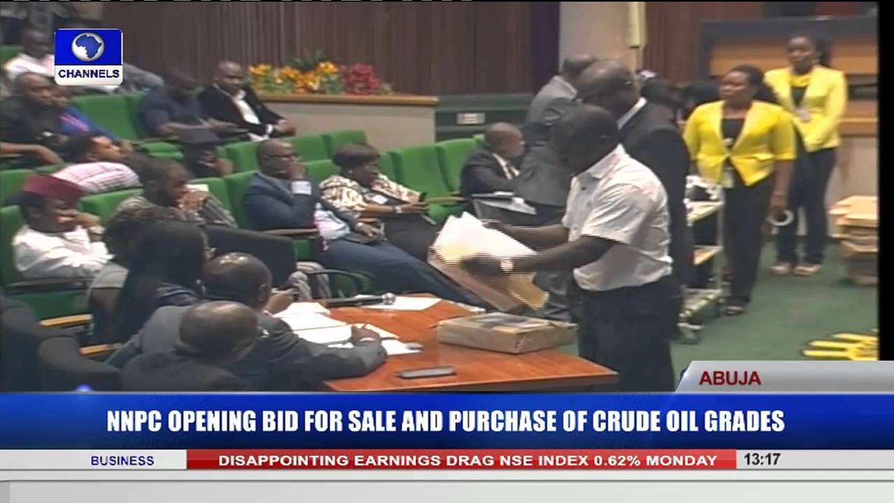 NNPC Opens Bid For Sale & Purchase Of Crude oil Crates Pt 5