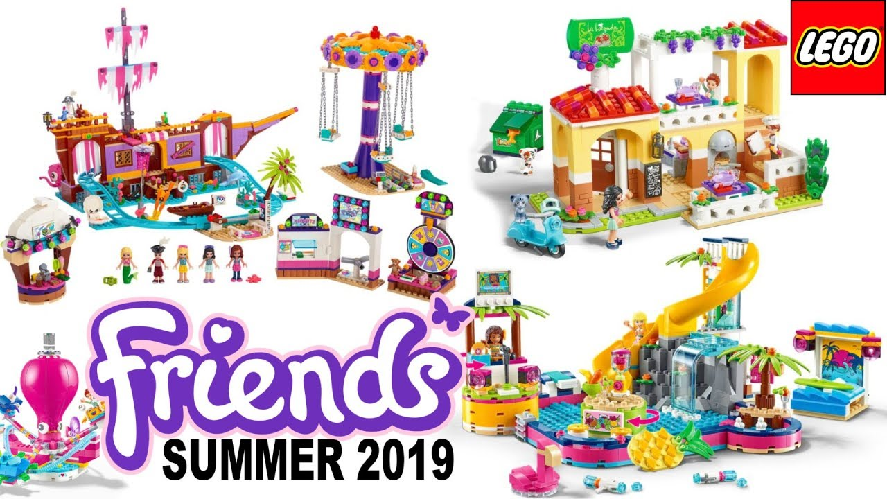 Lego Friends 2019 Summer Sets Pictures Youtube