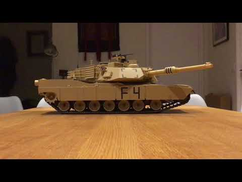 Building of the 1/16 RC M1A2 Abrams TAMIYA 56041 - part 3