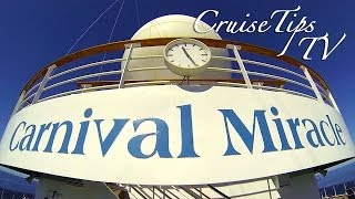 Carnival Miracle Ship Tour - Cruise Tips Tv