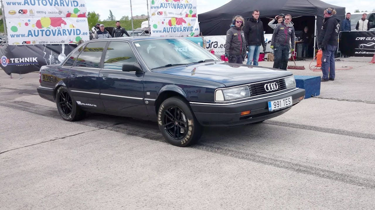 700 bhp audi 200 20v 2 2t quattro 1 8mile drag race youtube. Black Bedroom Furniture Sets. Home Design Ideas