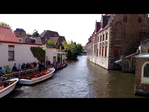 Brugge (Belgium) Day trip -  April 2017 (Travel Vlog)
