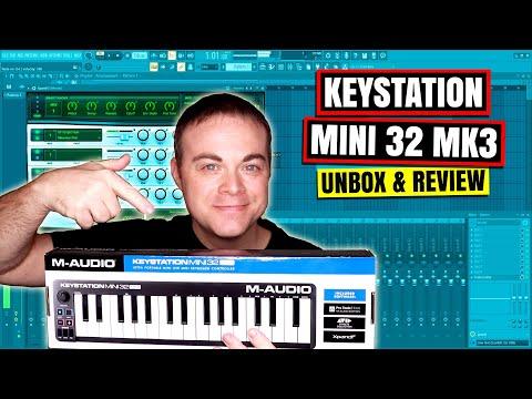 M Audio Keystation Mini 32 MK3 - Mini Midi Keyboard 2019 Review