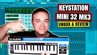 M Audio Keystation Mini 32 MK3 - Mini Midi Keyboard 2019 Review