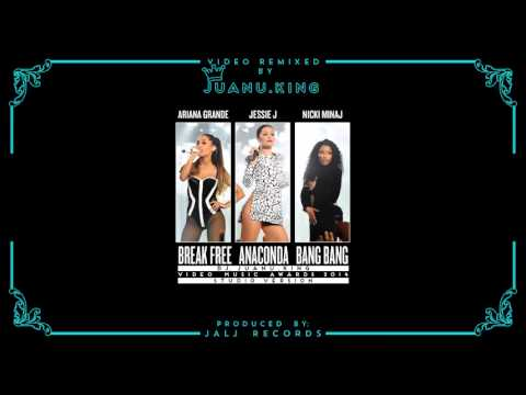 Ariana Grande, Nicki Minaj & Jessie J - VMA's 2014 Studio Version (by Dj. Juanu.King)