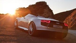 Audi e-tron Spyder Videos