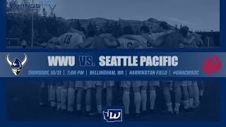MSOC | WWU vs. Seattle Pacific  (10/31, 7 pm)