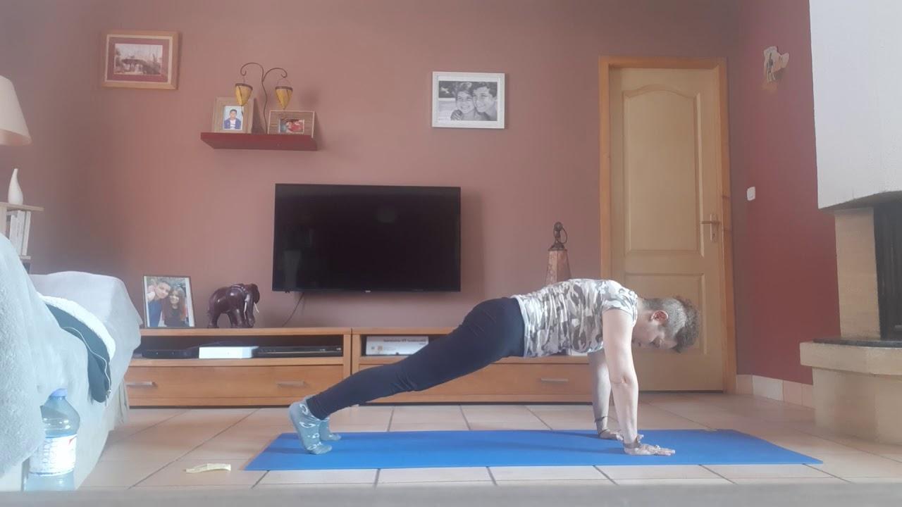 Spécial confinement : séance mixte Pilates et renforcement 2/2)