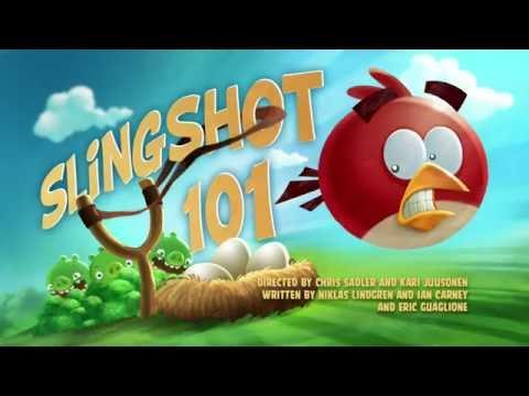 Злые птички Angry Birds Toons 1 сезон 11 серия Рогатка для новичков все серии подряд
