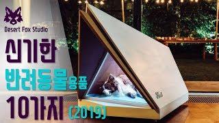 신기한 반려동물용품 10가지 (2019)