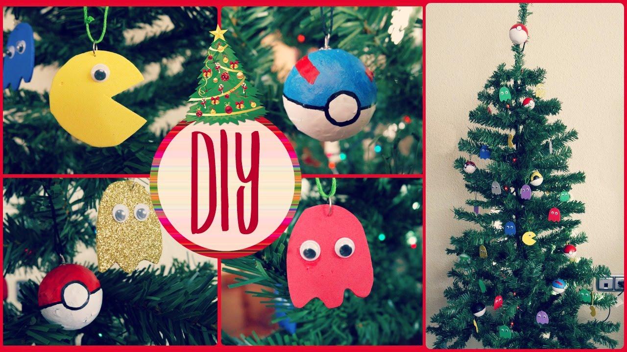 Diy decoraci n navidad adornos frikis para el rbol de - Diy decoracion navidad ...