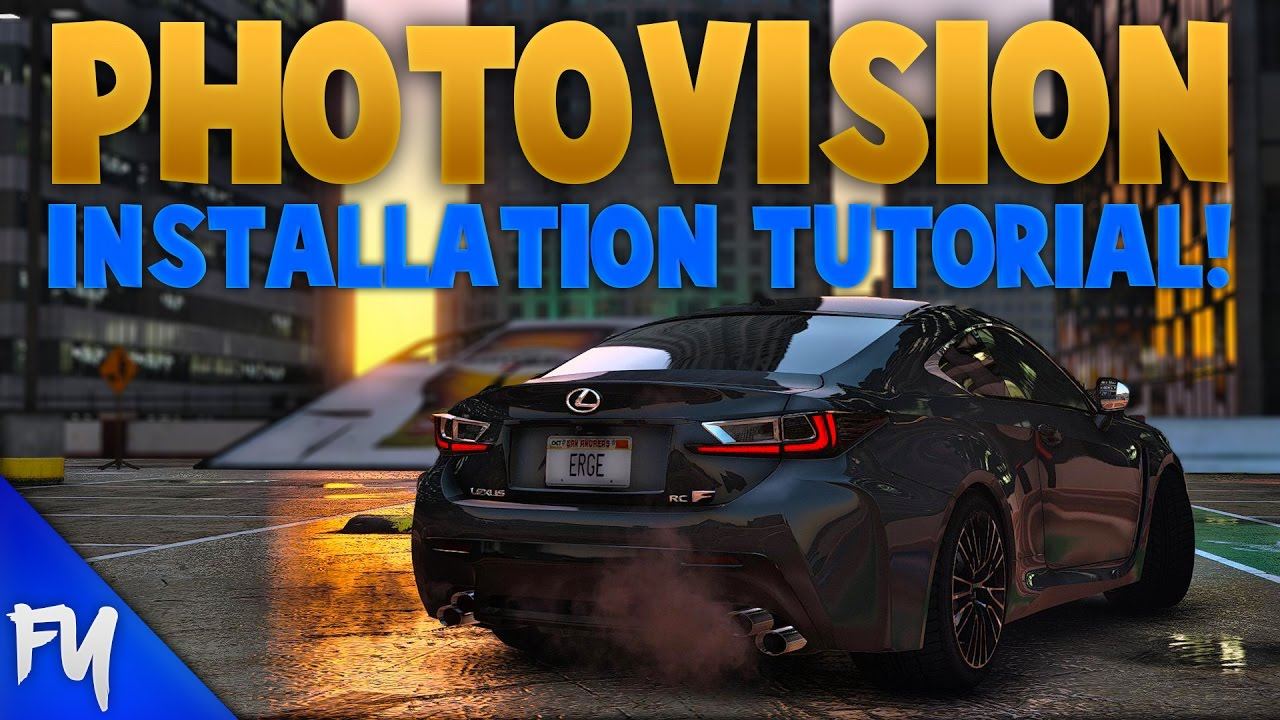 GTA 5 - PhotoVision | Photorealistic Graphic Mod | Step by Step  Installation Tutorial | GTA V PC MOD by FYDeadTuber
