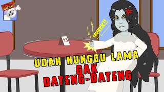 Gagal Jadian☠Kunti Emosi☠Funny Cartoon☠Musim 2☠Horor Lucu