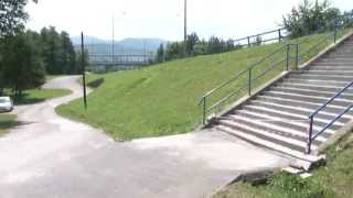 Oprava schodov do parku