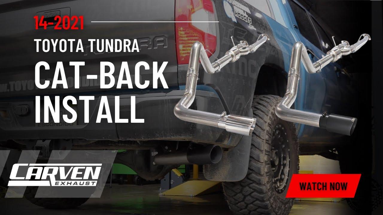 2014-2019 TOYOTA TUNDRA COMPLETE CAT-BACK KIT