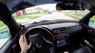 Mercedes-Benz C200 CDI (W202) 1999 - Test Drive - POV