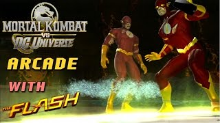 Mortal Kombat VS DC Universe Playthrough  - The Flash