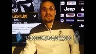 Osvaldo: «Tevez idolo». E canta l'inno Juve VIDEO